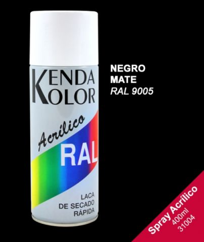SPRAY  KENDA NEGRO MATE 9005 400ML