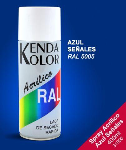 SPRAY KENDA AZUL RAL 5005 400ML