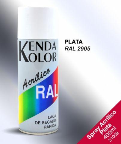 SPRAY  KENDA PINTURA PLATA 2905 400ML