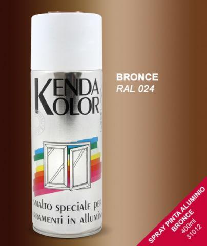 SPRAY KENDA BRONCE RAL 024  400 ML