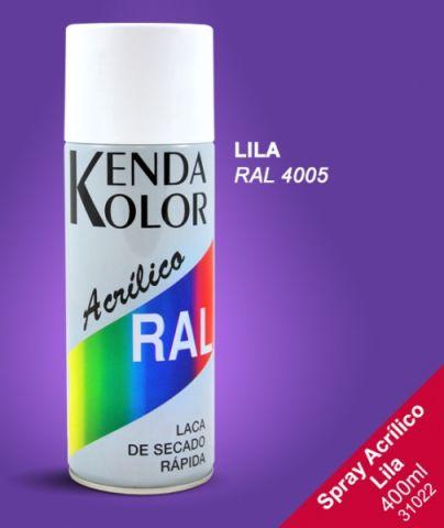 SPRAY KENDA LILA RAL 4005 400ML