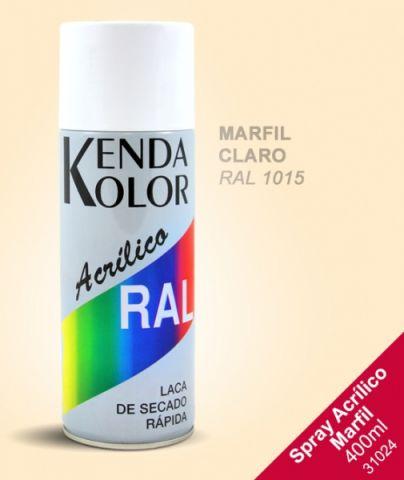 SPRAY KENDA  MARFIL CLARO RAL 1015 400ML