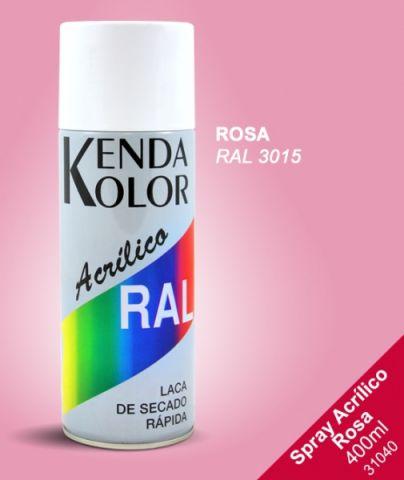 SPRAY KENDA ROSA RAL 3015 400ML