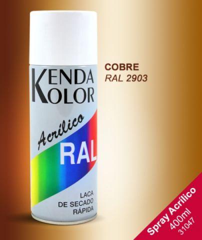 SPRAY KENDA COBRE RAL 2903 400 ML