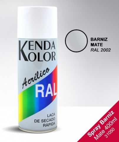 SPRAY KENDA BARNIZ  MATE RAL 2002 400ML