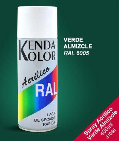 SPRAY KENDA  VERDE RAL 6005 400ML
