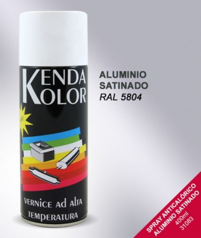 SPRAY KENDA ALTA TEMPERATURA ALUMINIO