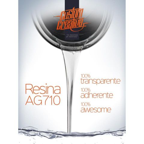 RESINA AG710 SOLVENT BASE 1K - 150ML