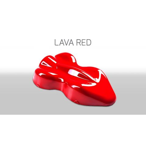 FLUOR BASE SOVENTE 150ML - LAVA RED
